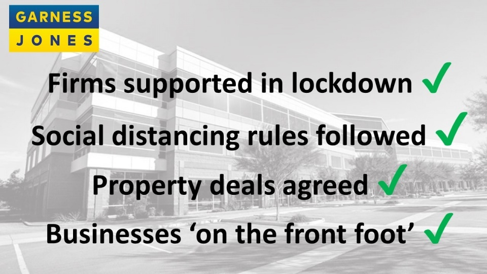 Why we are proud to have helped put businesses 'on the front foot' as exit from lockdown begins