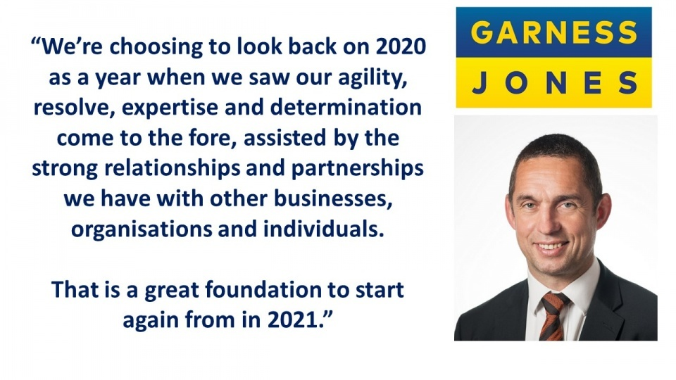 Business can emerge from the challenges of 2020 ready to face anything that comes in 2021