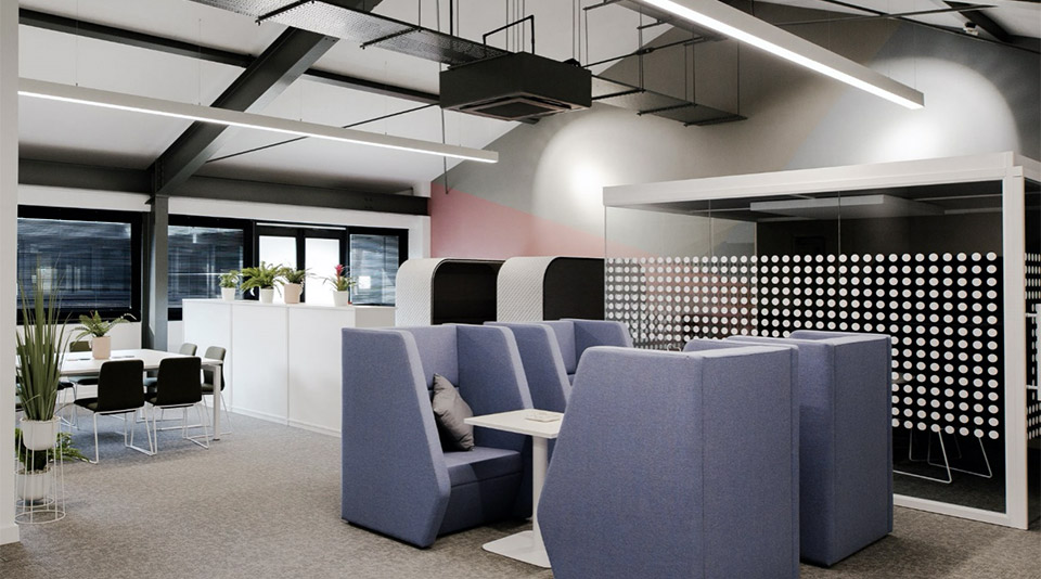 Welcoming, contemporary, comfortable and spacious offices are a must to tempt workers back from the comforts of home